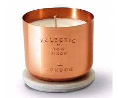 copper cup scented candle