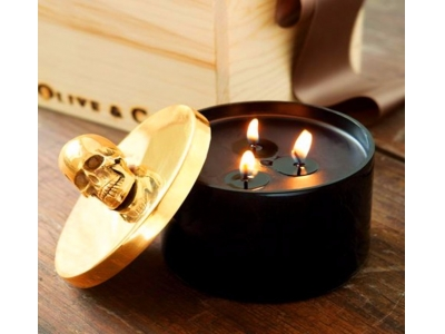 scented candle with jar