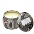 Tin box scented candle