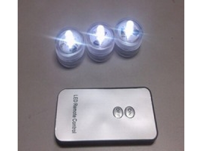 Waterproof led tealight candle