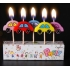Cute shape birthday candle