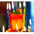 Pillar birthday candle